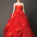 O vermelho na tradição chinesa representa felicidade e boa sorte – Fotografias de Vera Wang