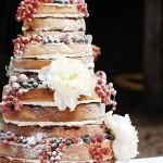 Naked Cake: o bolo inovador que está conquistando as noivas. Sabe aquele bolo de casamento que só de olhar faz você salivar?