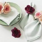 guardanapos para casamento - countryliving