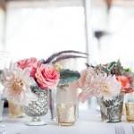 arranjo de flores para casamento - Kim Fox Photography