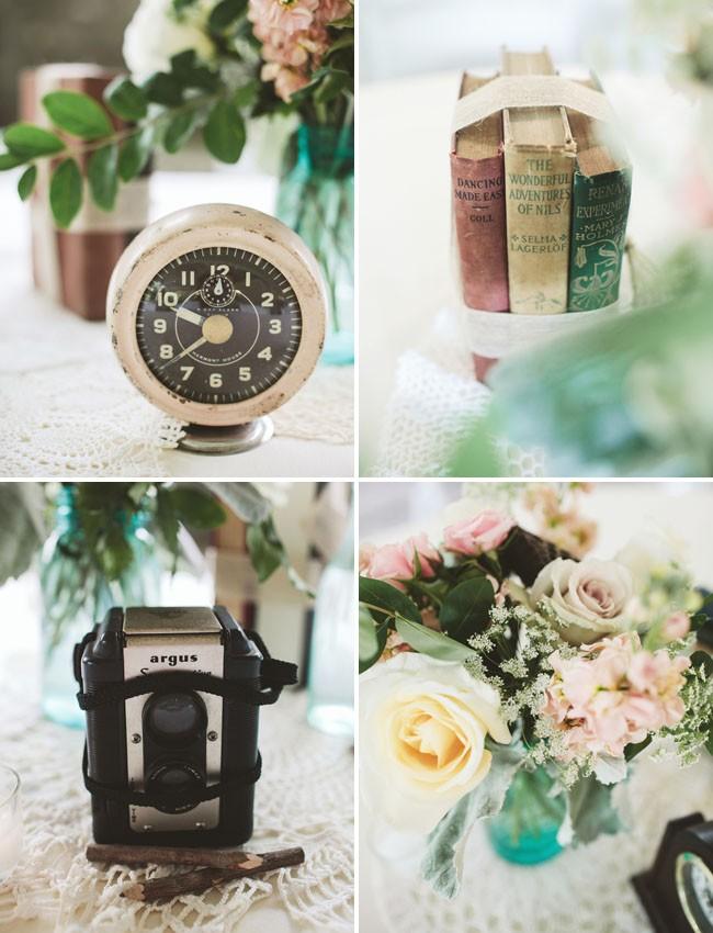 decoração de jardim para casamentos - E por falar em detalhes, são eles que vão definir a temática de sua decoração. Aqui, uma inspiração para casamento vintage ao ar livre.
