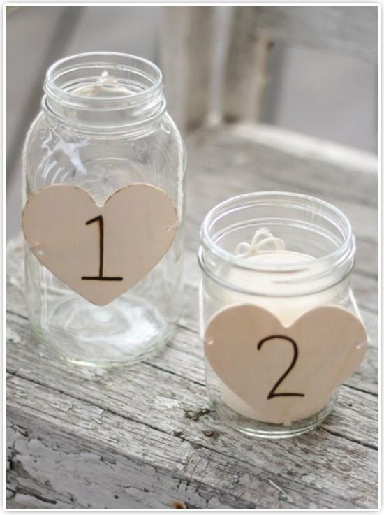 números para mesas - Bravo Bride
