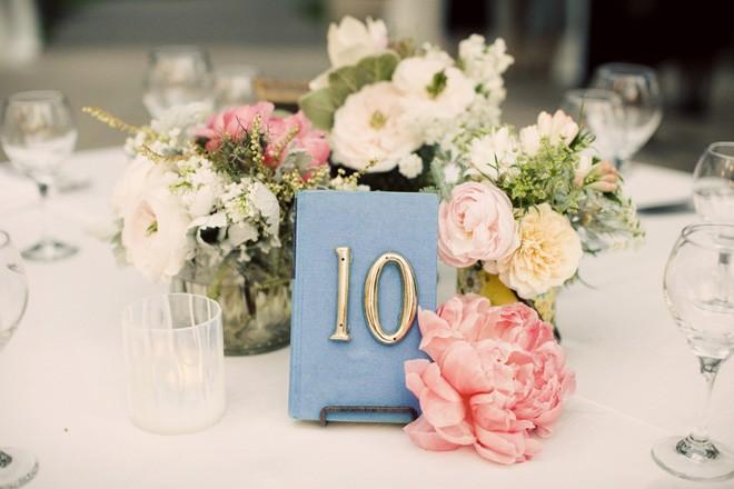 números para mesas - Chelsea Elizabeth Photography