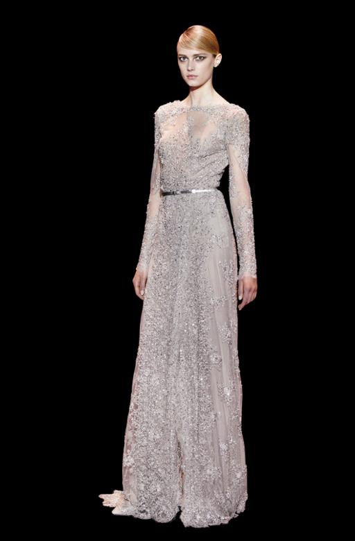 Mais um modelito da coleção Elie Saab de vestidos de festa 2014 - vestidos para convidadas de casamento Elie Saab