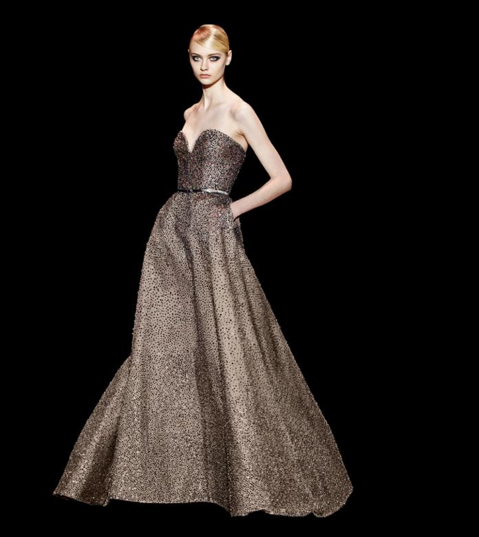 De muito a pouco volume, a coleção de Elie compreende todos os gostos - vestidos para convidadas de casamento Elie Saab