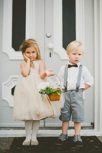 Daminha e pajem: flower girl e ring bearer, segundo a tradição americana