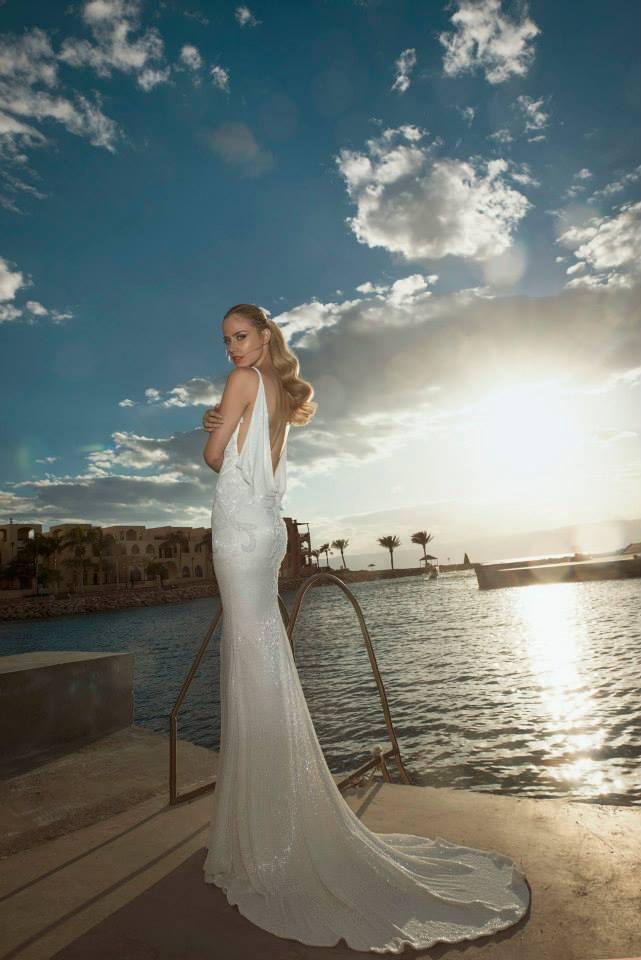 Vestido de noivas justo da coleção 2014 de Tal Kahlon