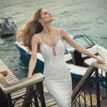 O ensaio da coleção de vestidos de noivas de 2014 de Tal Kahlon foi charmoso e deixou os modelitos ainda mais desejáveis!