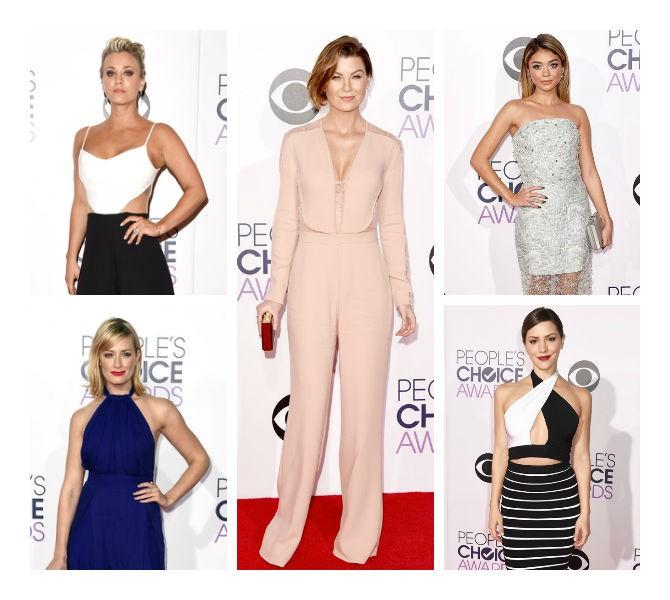 Os melhores looks de festa do People's Choice Awards 2015 para você se inspirar! Entenda o que copiar de cada look neste artigo.