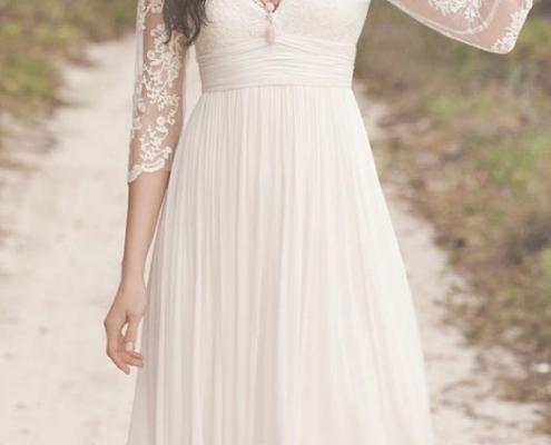 Inspiração de look para casamento civil, no estilo boho chic.