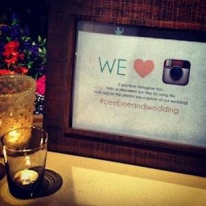 Casamiento Geek e Instagram!