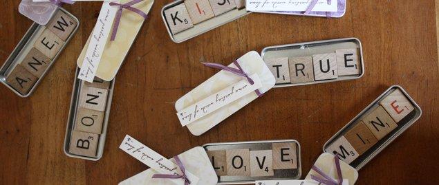 Ambientación de Bodas Scrabble con Magnets