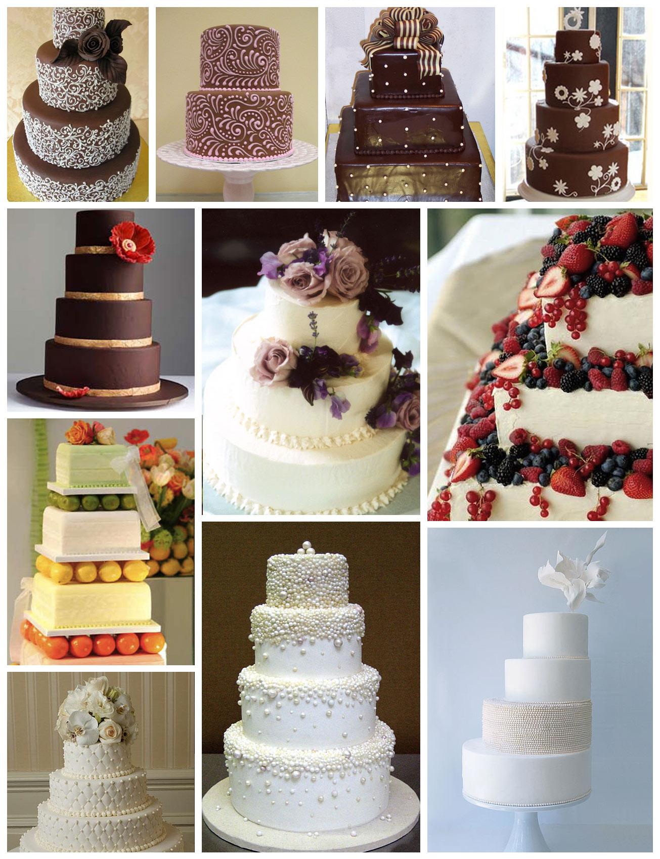 Torta de Casamiento Moderna | Fotos | Ideas Torta de Casamiento