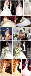 Los 5 peores vestidos de novia de la historia