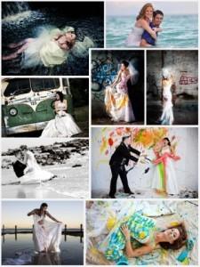 Trash the dress sesión de fotografia una nueva alternativa para fotos de casamiento