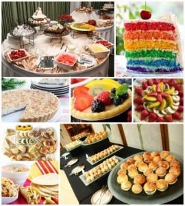 Mesa dulce o mesa salada en tu casamiento