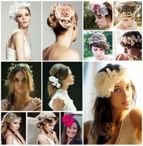 Hacé de un casamiento real tu realidad con peinados con tocados!!!
