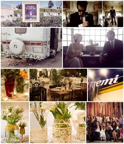 Boda vintage ambientacion de eventos for Ambientacion para bodas