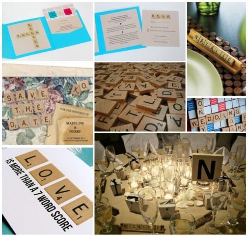 Boda tem tica y su organizaci n scrabble for Ambientacion para bodas