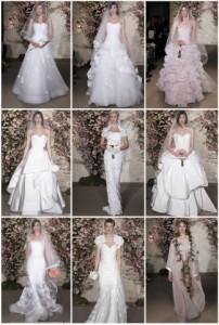 Tendencia en vestidos de novia 2012: Oscar de la Renta