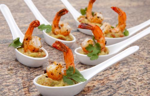 Finger food para casamientos - Los calamares gourmet son una exquisita opción para finger food