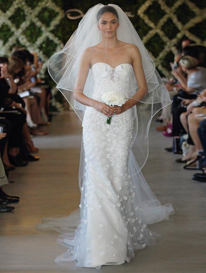 Detalles en los vestidos de novia de Oscar de la Renta