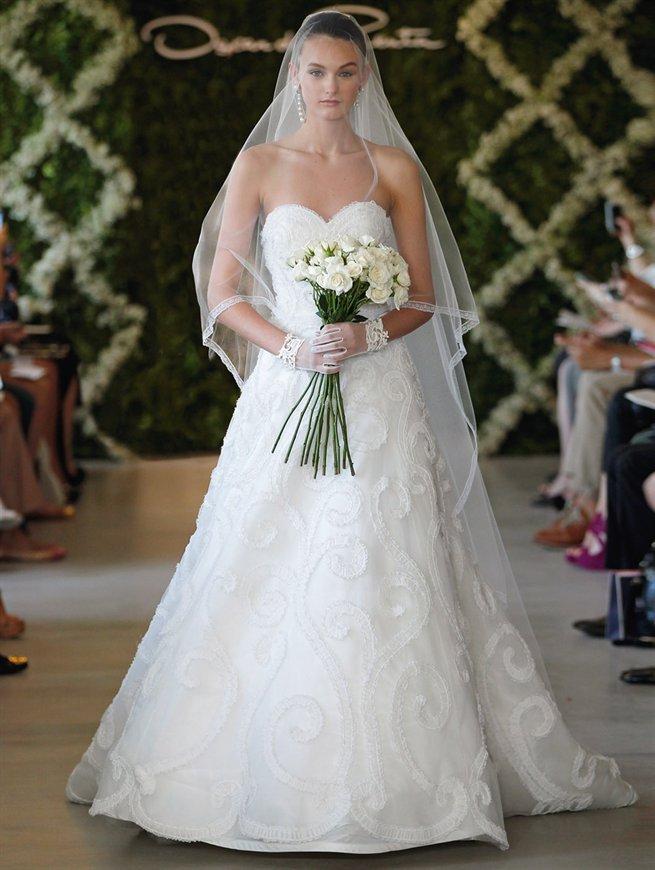 Diseñadores de vestidos de novia Oscar de la Renta