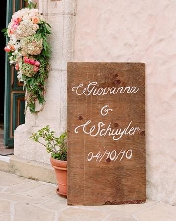 Señaladores para bodas campestres | foto