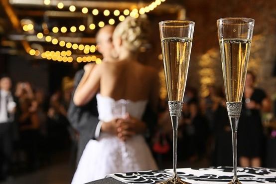 Detalles para novias No beberás vino tinto