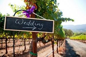 Decoración para bodas campestres con carteles | fotos
