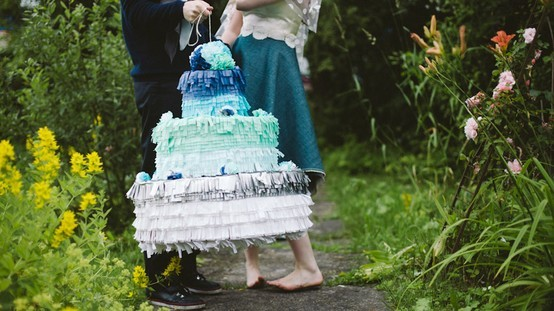Como organizar una boda con pinata