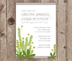 Flores para bodas en Tarjetas temáticas