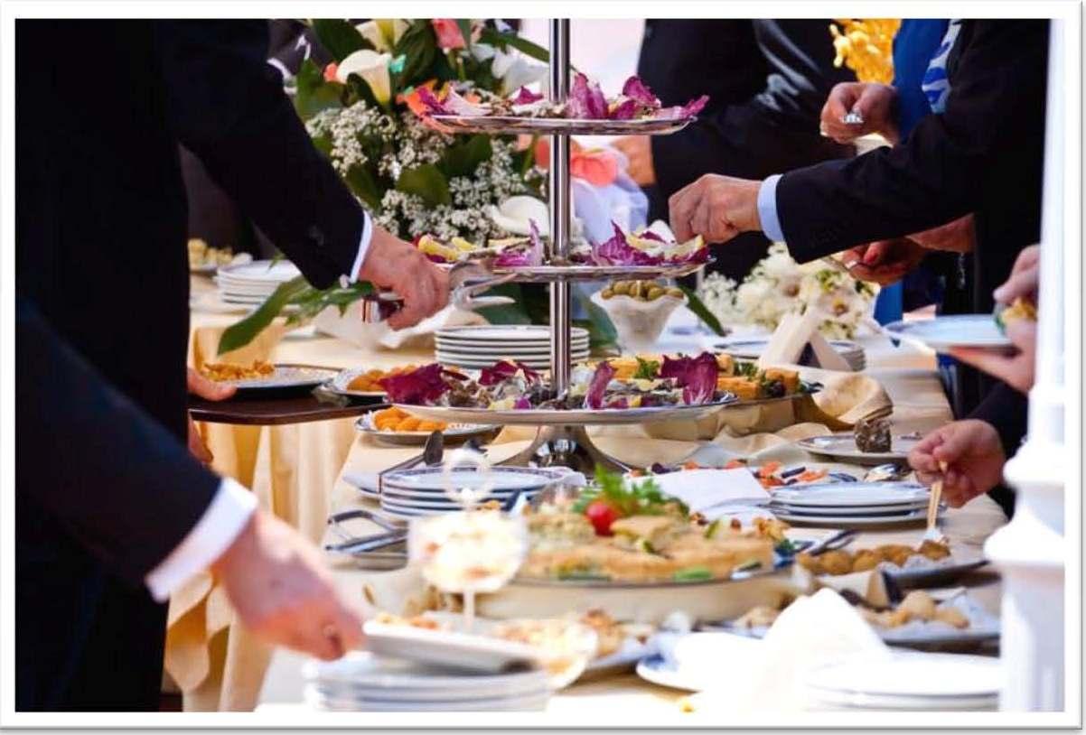 Cóctel de boda: maneja el presupuesto para una boda