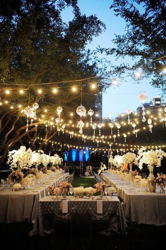 presupuesto para una boda en el jardin