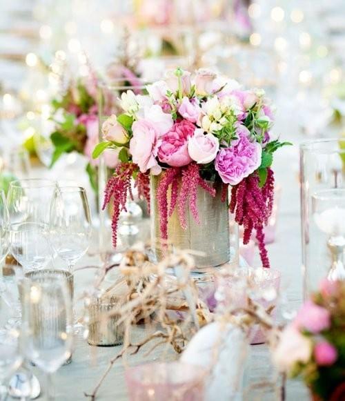 Como hacer un arreglo floral para bodas pasos y trucos for Arreglo de boda en jardin