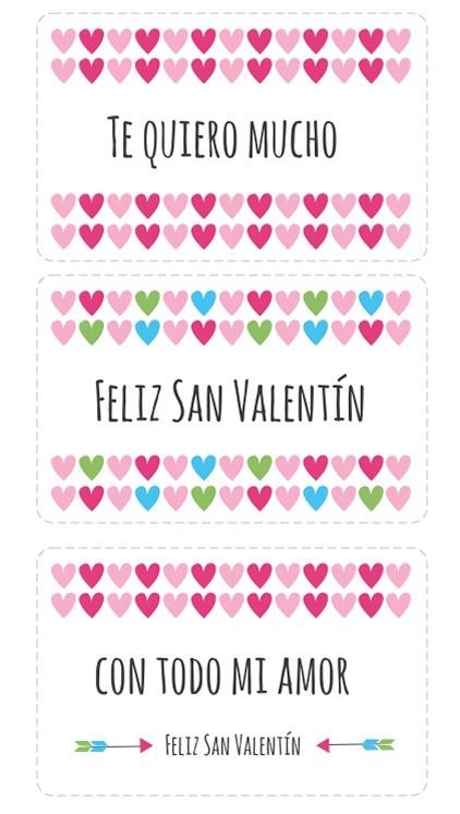 Tarjetas para imprimir para regalar a tu novio en San Valentin
