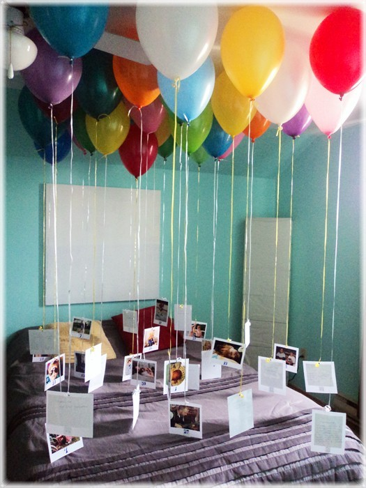 Surprise Birthday Idea