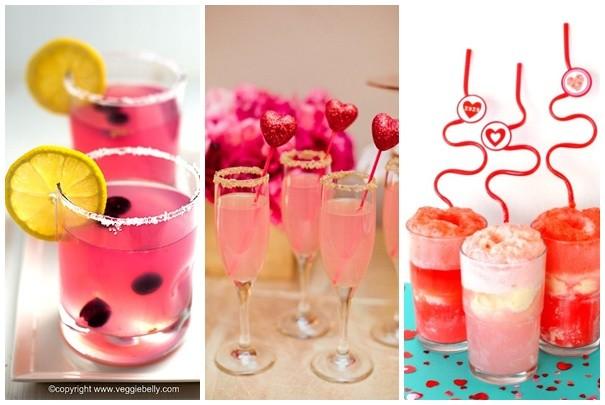 San Valentin Sorpresas para novios: Tragos especiales