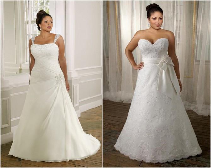 Vestidos de novia tubo y vestido con escote corazón para gorditas
