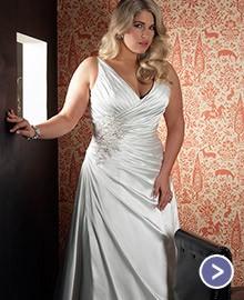 vestidos para novias gorditas