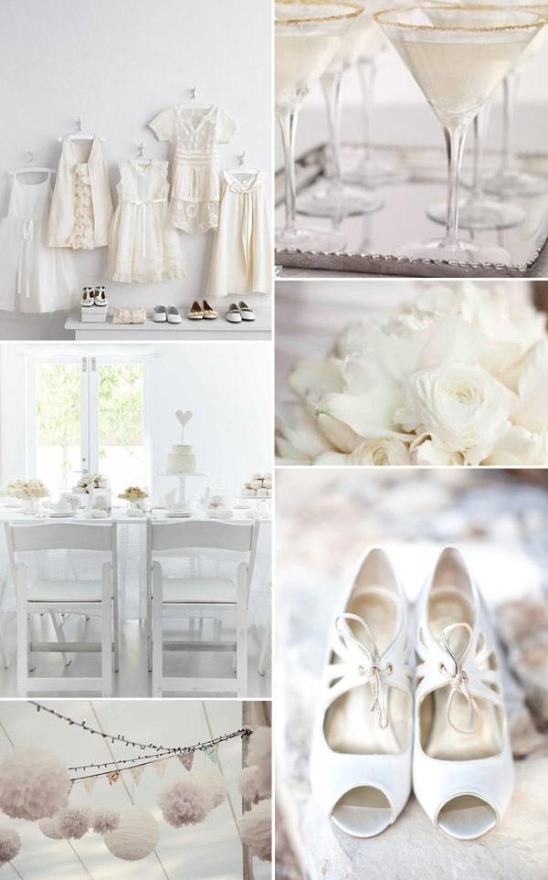 decoracion de salones de bodas escandinavas | imagenes