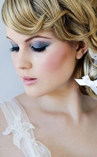 Foto de Maquillaje para novias enfatizando los colores