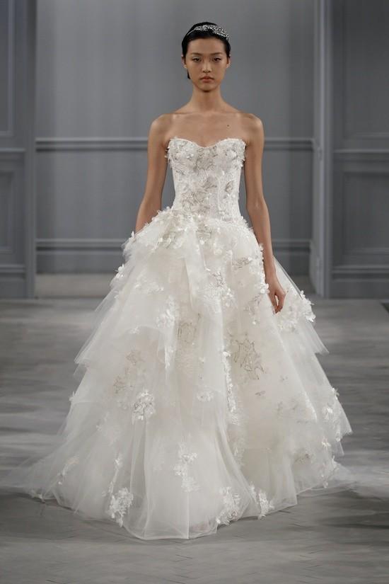 Monique Lhuillier vestidos coleccion 2014 - Bijou