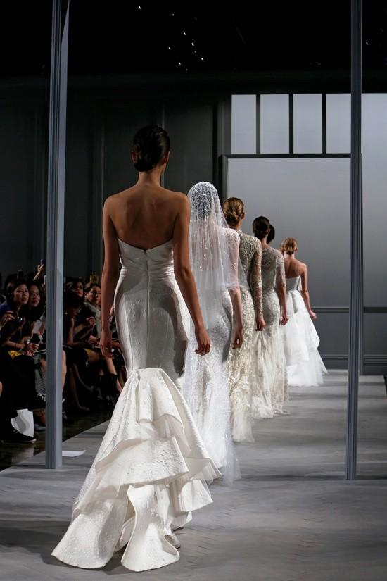 Monique Lhuillier vestidos coleccion 2014 finale in New York