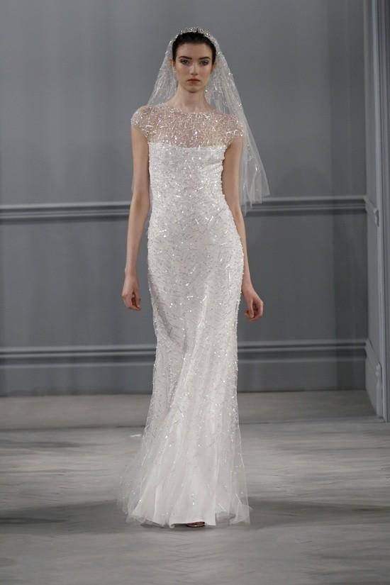 Monique Lhuillier vestidos coleccion 2014 - Celestial