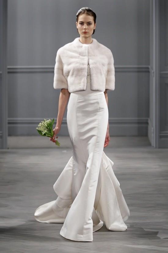 Monique Lhuillier vestidos coleccion 2014 - estelle