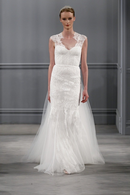 Monique Lhuillier vestidos coleccion 2014 - Harper