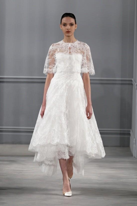 Monique Lhuillier vestidos coleccion 2014 - Innocence