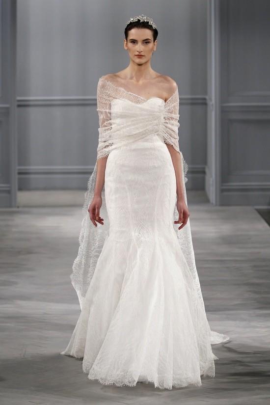 Monique Lhuillier vestidos coleccion 2014 - Intrigue