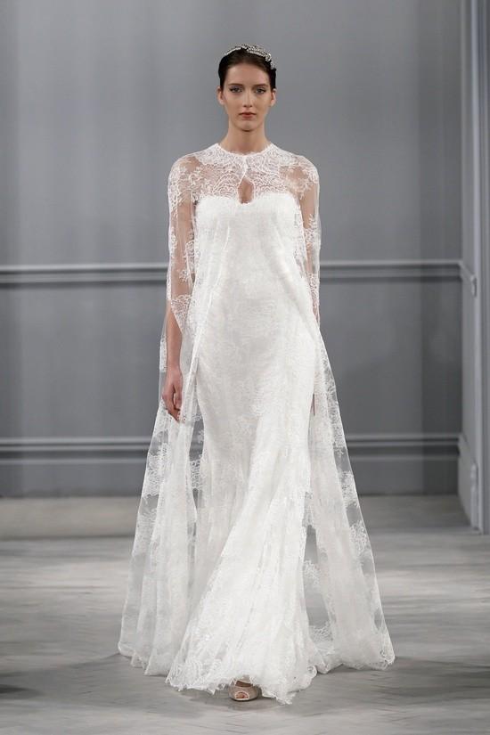 Monique Lhuillier vestidos coleccion 2014 - Sandrine